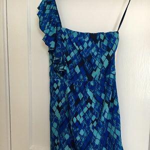 HP Gianni Bini   one shoulder dress NWT SZ 2